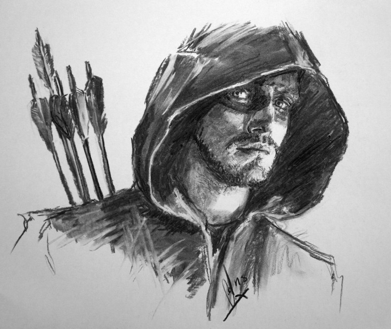 Stephen Amell by Ans66